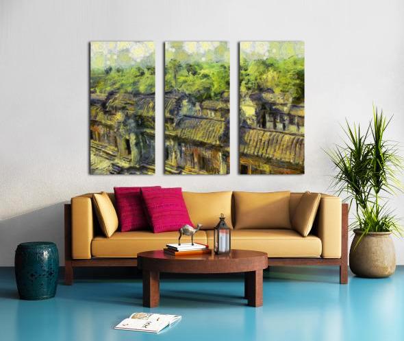 CAMBODIA 132 Angkor Wat  Siem Reap VincentHD Split Canvas print