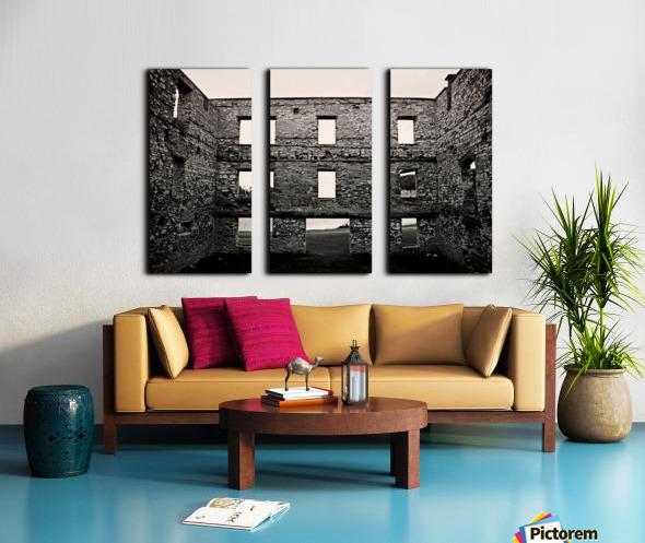 Stone Structure Split Canvas print