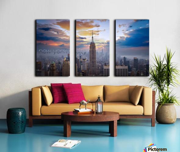 Empire Split Canvas print