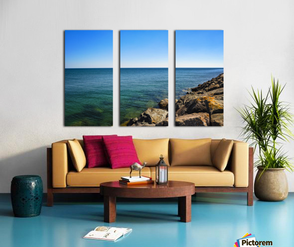 Tranquil Waters Split Canvas print