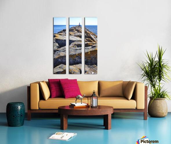 The Pier Split Canvas print