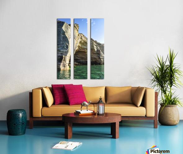 Lovers Leap Split Canvas print