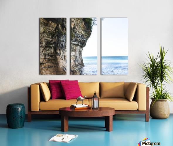 Land Meets Water Split Canvas print