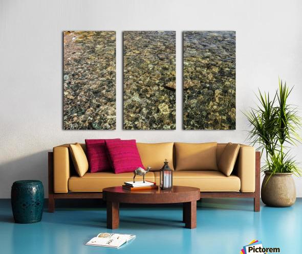 Rocky Reflection Split Canvas print