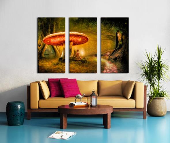 Fairy Ring Split Canvas print