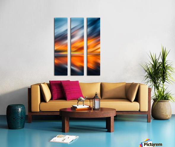 Abstract Movement XXXV Split Canvas print
