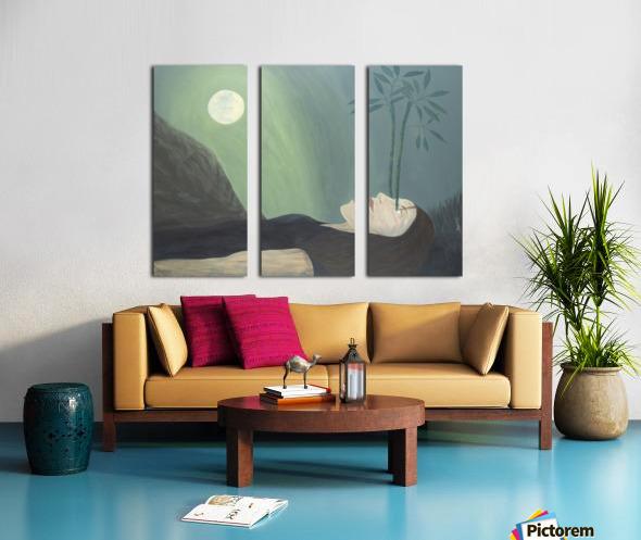 High Perspective Growth Split Canvas print