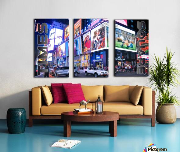 Times Square  Split Canvas print