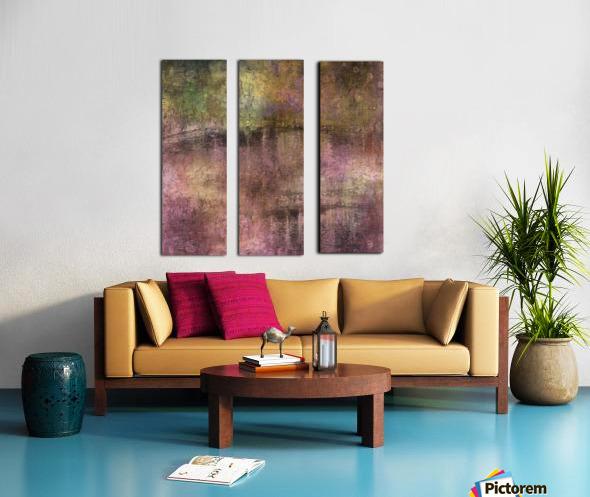 Dusky Tones Split Canvas print