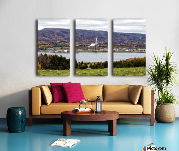Cheticamp Split Canvas print