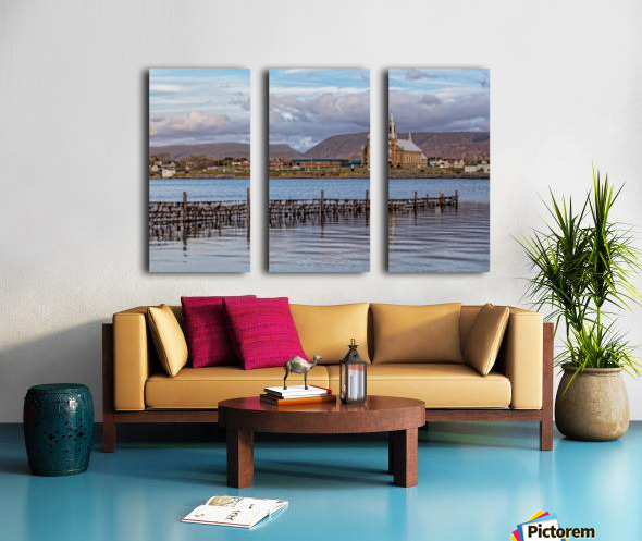 Cheticamp - A placed called home. Split Canvas print