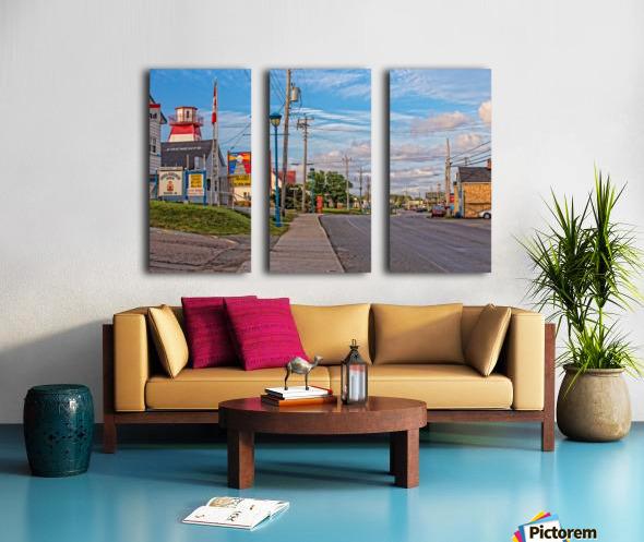 Cheticamp - Main Street Split Canvas print