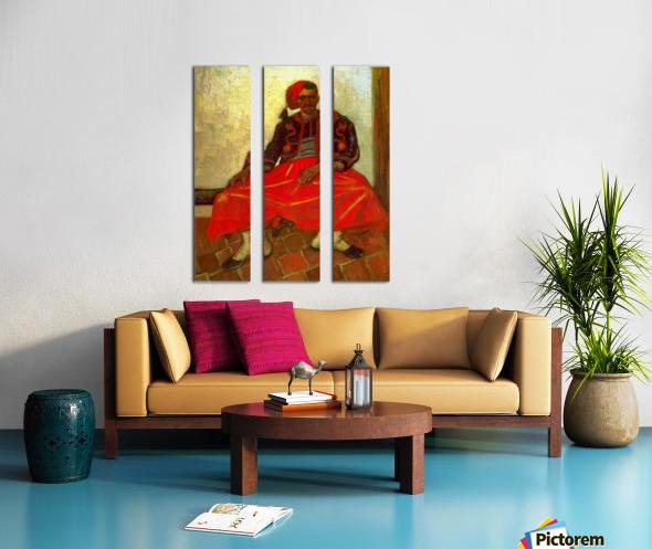 Zouave by Van Gogh Split Canvas print