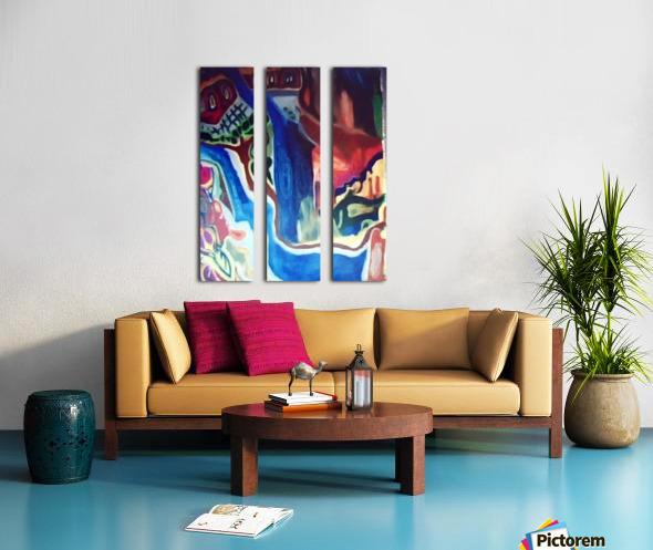 The Saints Split Canvas print