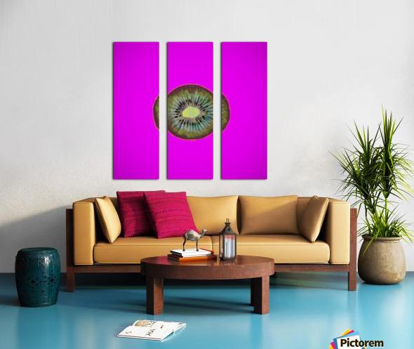 Kiwi Redux II Split Canvas print
