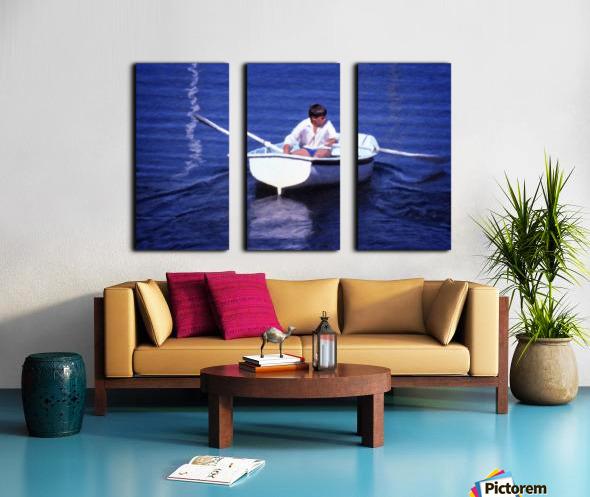 Rower Split Canvas print