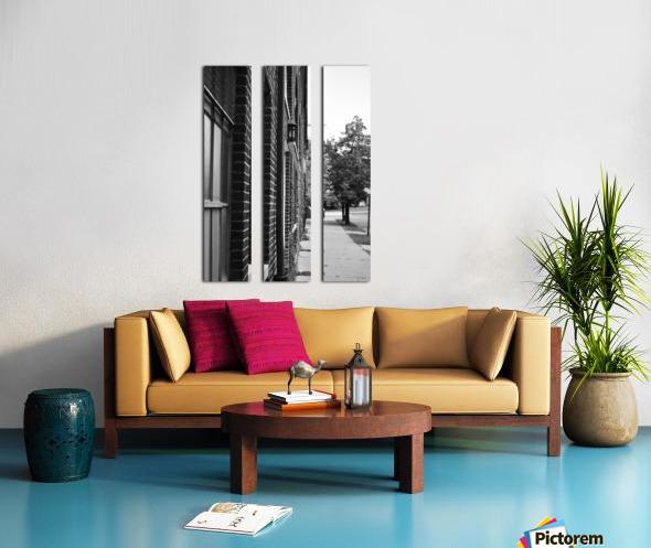 Quiet Street Split Canvas print