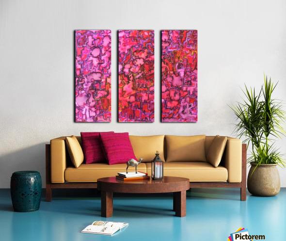 RANDOM Split Canvas print