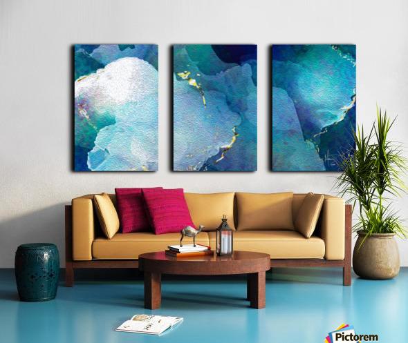 TheDeep Split Canvas print
