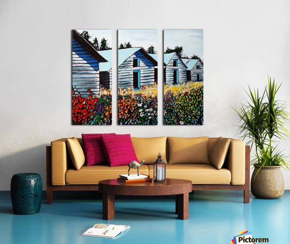 Summer on the Farm Split Canvas print