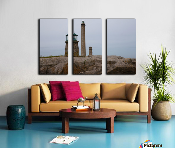 Architecture marine Light house Split Canvas print