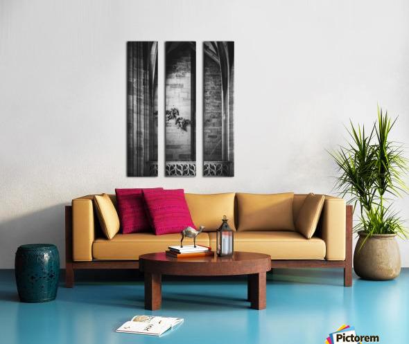 Gothic angels Split Canvas print