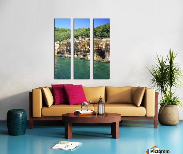 0222 Split Canvas print