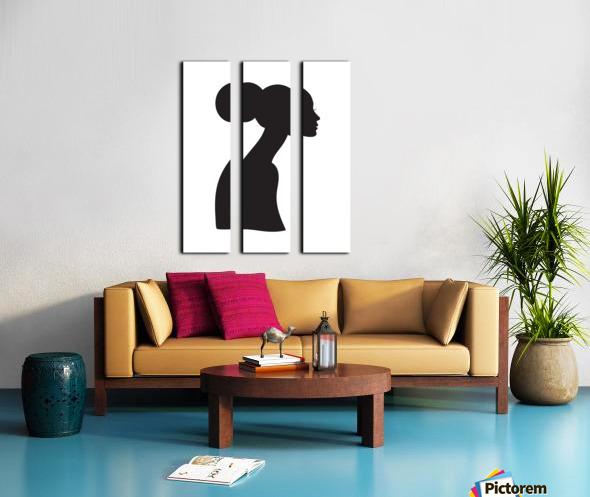 Believe Split Canvas print