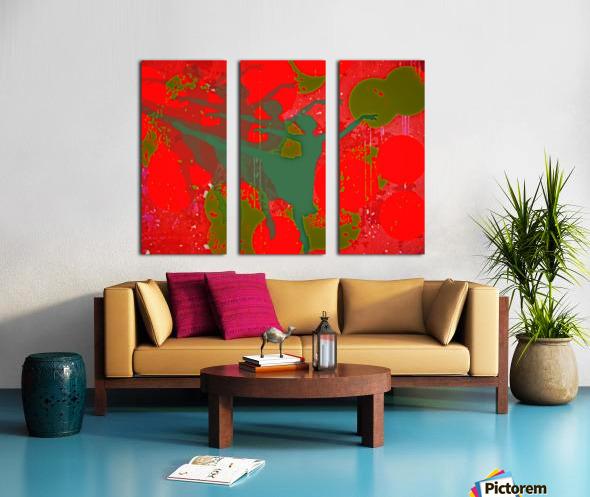 Dancing in a Dream Split Canvas print
