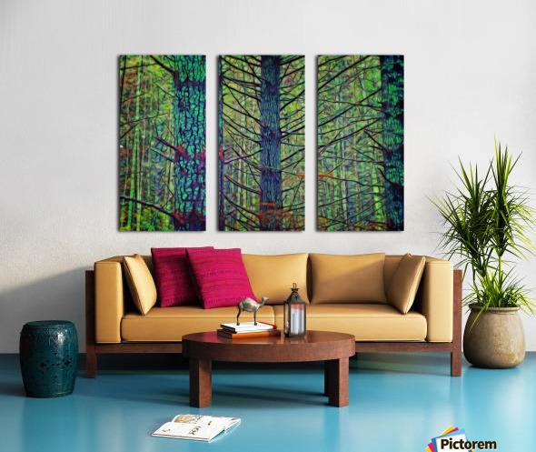 Forest Splendor Split Canvas print