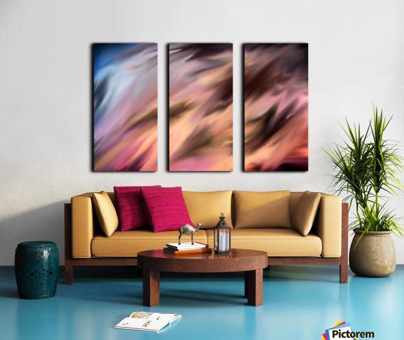 Turbulence Split Canvas print