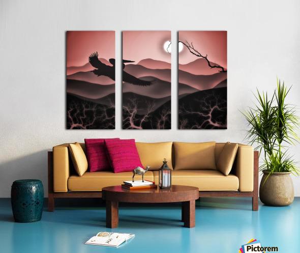 Flight of Fancy Split Canvas print