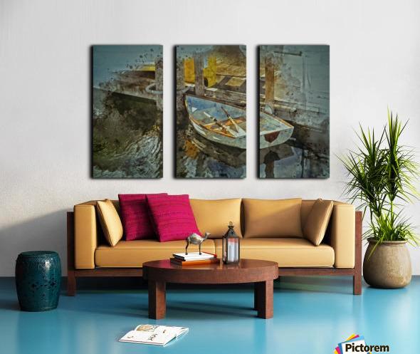 Rowboat Split Canvas print