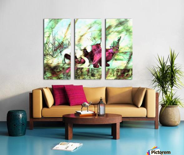 Cat Spirit Split Canvas print