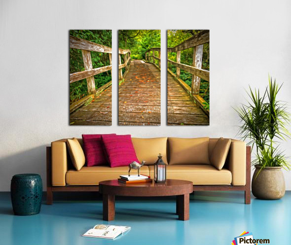 Bridge in the Sanctuary Split Canvas print