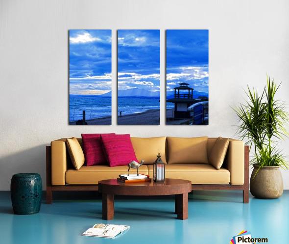 Gone Fishing  Costa Del Sol  Spain 1 of 2 Split Canvas print