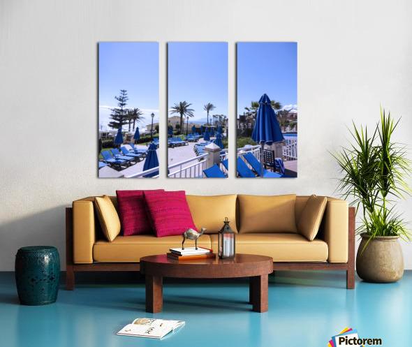 Costa del Sol Andalusia Spain 3 of 4 Split Canvas print