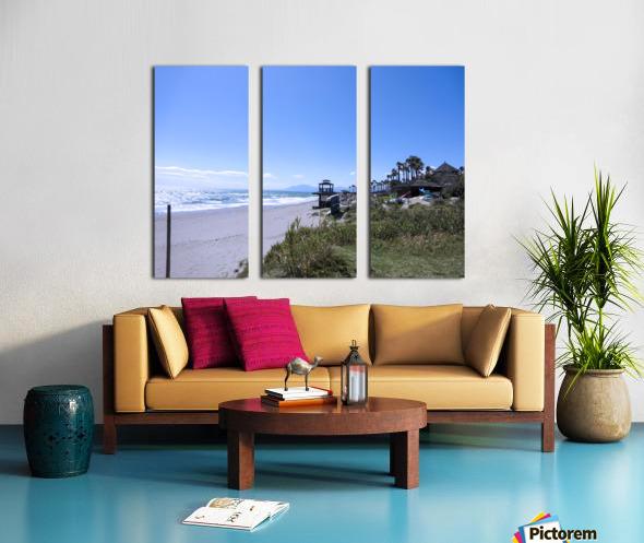 Costa del Sol Andalusia Spain 4 of 4 Split Canvas print