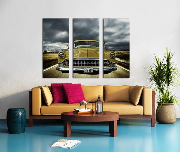 1953 Chevrolet Split Canvas print