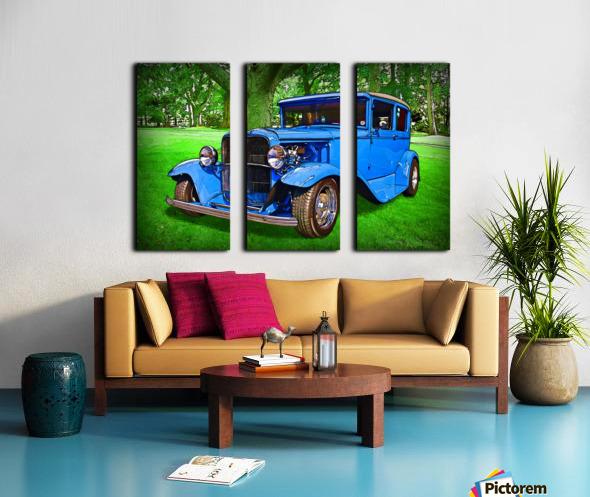 1930 Ford Split Canvas print