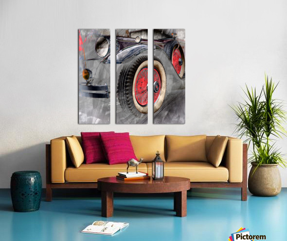 1930 Packard Split Canvas print