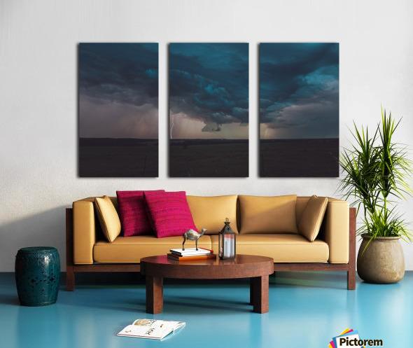 Prairie Storm Split Canvas print