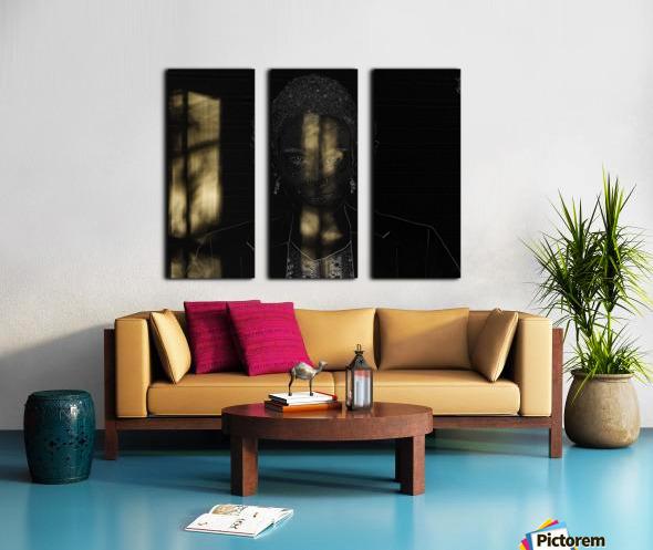 Entrer dans la lumiere -  Step into the light Split Canvas print
