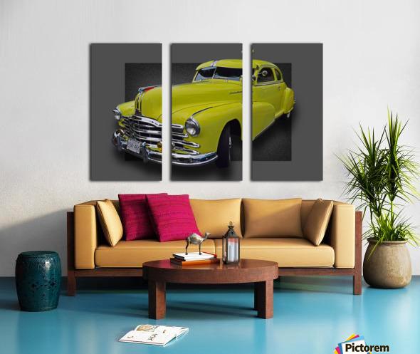 1948 Pontiac Silver Streak Split Canvas print