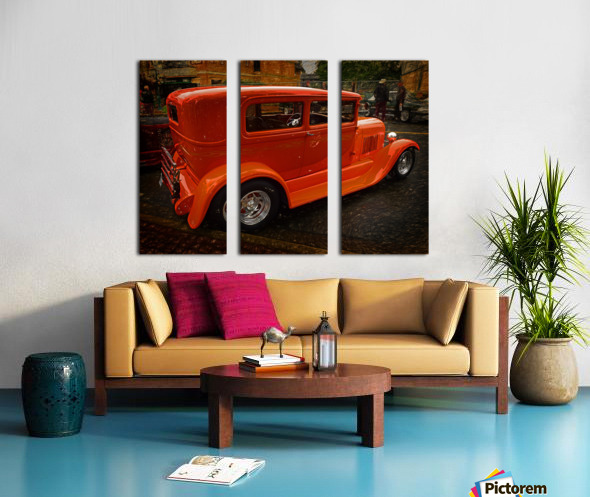1929 Ford Tudor Sedan Split Canvas print