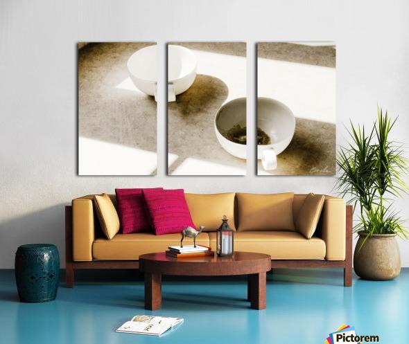 Un Amour Consomme - A Consumed Love  variation 4 Split Canvas print