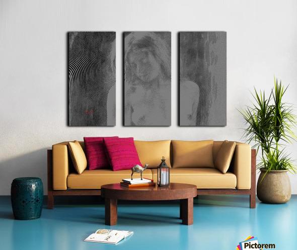 Goddess Zoe Limited Edition 5 Prints only Split Canvas print