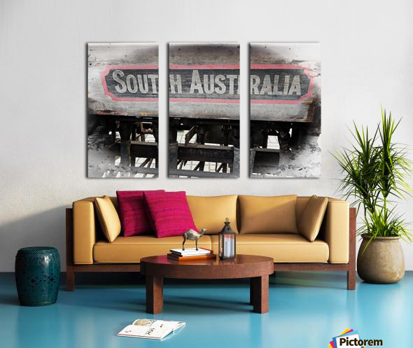 South Australia Sign Split Canvas print