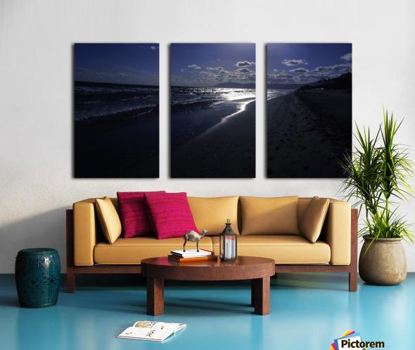 Reflections - Beneath the Moonlit Skies Split Canvas print
