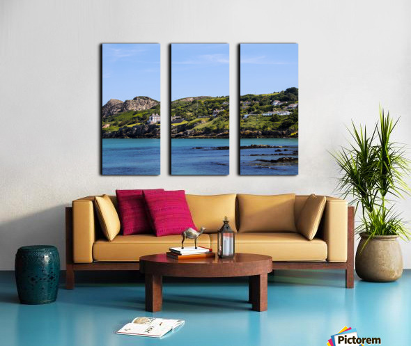 Howth Ireland Split Canvas print